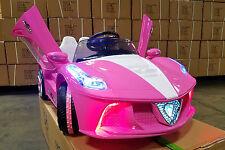 2018 12V Ferrari Spider Style Kids Ride On Car MP3 Battery Powered Wheels Remote