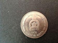 CANADA 1978 ROYAL CANADIAN LEGION EDMONTON ALBERTA ONE TRADE DOLLAR