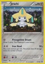Pokemon Ultra Rare Holo Foil Jirachi Card XY195 HP 70 Black Star Promo MINT