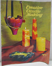 Vintage 1971 Creative Candle Making LaCresta How To Make Candles