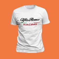 T-ShirtAlfa Romeo T-shirt Alfa sport T-shirt brodé Italy LOGO Fan 02