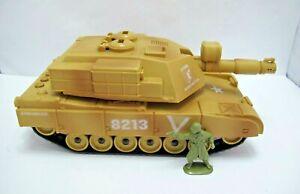 Abrams ? - GUNNER, SABOT, TANK 28 cm Long - Battery Powered - (1097)