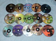 LOT OF 14 PLAYSTATION VIDEO GAMES THAT DONT WORK OR ARE SCRATCHED