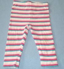 Tiny Little Wonders Cute Girls Striped Leggings, Size 00