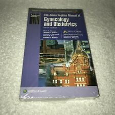 Johns Hopkins Manual of Gynecology and Obstetrics Paperback by Johnson... (AB0)