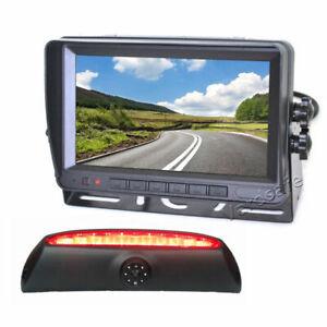 Brake Light Rear View Reversing Camera Monitor Kit  for Iveco Daily (2006-2013)