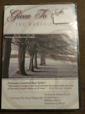 Given to Him: The Worship DVD 2004 Platinum Certified Gospel Video Christian NIP
