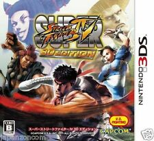 Used 3DS Super Street Fighter IV 3D Edition  NINTENDO 3DS JAPANESE  IMPORT
