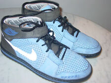 "2010 Nike Air Jordan Alpha 1 ""Promo"" Blue Sabathia NY Yankees Shoes! Size 15"