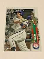 2020 Topps Walmart Holiday Baseball Rookie - Nick Solak RC - Texas Rangers