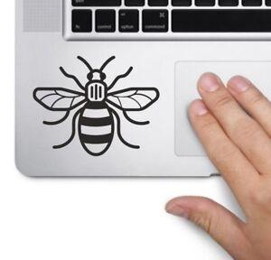 MANCHESTER BEE Laptop, car, wall, window, decal sticker 8.5cm x 7cm