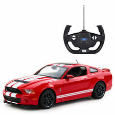 RASTAR OFFICIAL LICENSED Red Mustang Shelby GT500 Remote Control CAR 1:14 NEW