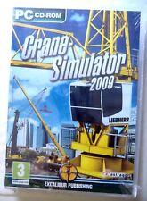 68322 - Crane Simulator 2009 [NEW / SEALED] - PC (2009) Windows XP