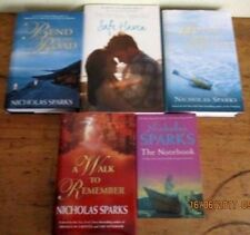 ~NICHOLAS SPARKS x 5 -SAFE HAVEN, WALK TO REMEMBER, BEND IN THE ROAD + 2-ALL GC~
