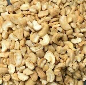 Raw Cashews Nuts Broken Pieces for Baking and Cooking %100 Natural