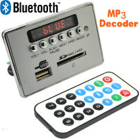 Car Kit LCD MP3 Wireless Bluetooth Decoder Board Audio Module USB TF SD FM Radio