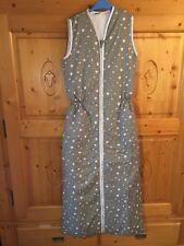Winter Schlafsack 150 cm NEU grau mit weißen Sternen