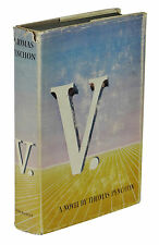 V. ~ THOMAS PYNCHON ~ First Edition ~ 1st Printing 1963 1st State Dust Jacket V