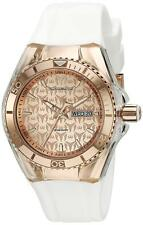 Technomarine TM-115001 Cruise Women's 40mm Monogram Rose Gold White Watch