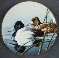 The Lesser Scaup Collector Plate Federal Duck Stamp Neal Anderson