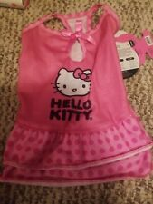 Hello Kitty Dog or Cat Dress Pink W/ Ruffles New with Tags Size S