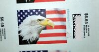 US Postage Stamps.$6.65 each stamp face value, one sheet face value $159.60