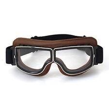 Raf Aviator Vintage Pilot Harley Cruiser Motorradbrille Schutzbrille Goggles