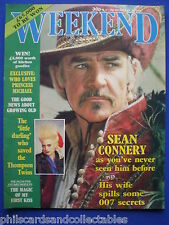Weekend Magazine - Sean Connery, Thompson Twins   23rd Oct.1985