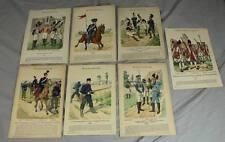 Colorierte mostrarían para 1890-knötel Uniform cliente-wttbg. 7 motivos a la elección de/s213