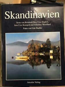 Bildband Skandinavien Atlas  Artvolor Verlag Texte Reinhold Dey