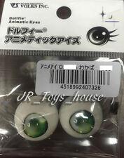 Volks Dollfie Dream Animetic Eyes TYPE O Wakaba Green 24mm Doll Point Limited