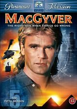 MacGyver - The Complete Fifth Season 5 (Dvd, 2006, 6-Disc Set) 10% to Charity