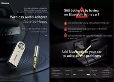 Car & Home AUX Bluetooth Transmitter Receiver 5.0  UK STOCK