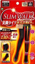 SLIM WALK Beautiful Legs Hot Comfortable Tights Sold in Japan Size M-L Black