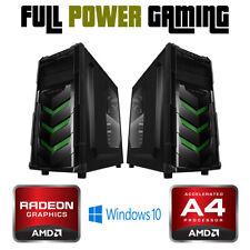 Custom Built Desktop PC AMD Dual CORE GAMING RADEON HD APU WIFI TOWER A4 6300