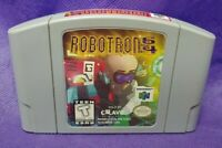 RobotRon Robot Ron 64  - *Authentic* Nintendo 64 N64 Game Working / Tested