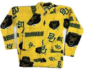 Jumpin Jammerz Adult One Piece Pajama Baylor Bears Baylor University Size XS