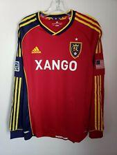 Adidas Formotion MLS Real Salt Lake FC Football Soccer LS Jersey Mens L Red