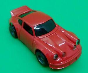 Tyco Vintage PORSCHE 911 Ho Scale Slot Car red