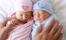 Newborn boy girl hospital hat Newborn Baby Beanie 0-6 Months Baby Hats Cotton