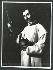 Estampa de San Bruno andachtsbild santino holy card santini