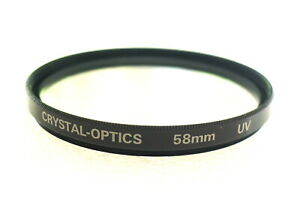 58mm Crystal Optics (Marumi) UV Filter - NEW