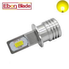 2Pcs H3 Yellow Golden Fog Light DRL 72W Daytime Running Lamp Canbus LED Bulbs
