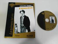 LA QUIMERA DEL ORO DVD + LIBRO EDIC ESPECIAL CHARLES CHAPLIN CASTELLANO ENGLISH