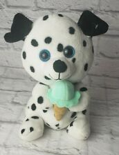 Kelly Toy Dalmation Glitter Eye Plush Stuffed Animal 10""