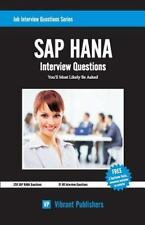 SAP HANA Interview Questions You'll Most Likely Be Asked (Job Interview Question