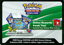 POKEMON UNUSED TCG XY VIRTUAL ONLINE CARD CODES X 100! CURRENT SETS! FREE SHIP!!