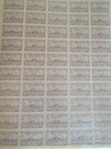 Scott #787 Sheet MNH - Military - Sherman & Grant