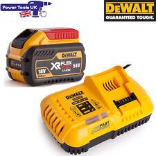 Dewalt DCB547 + DCB118 18V/54V XR FLEXVOLT 9.0Ah Battery + Fast Battery Charger