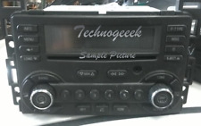 2006-2009 PONTIAC G6 G-6 Radio Stereo 6 Disc Changer CD Player Aux AM FM OEM UBK